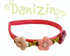 Tiara/ Arco 3 Flores Danizin