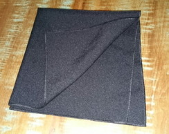 Guardanapos oxford -preto - 35x35.