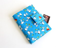 "Capa Kindle 6"" - Snoopy Azul"