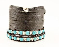 Kit de pulseiras Black and Blue