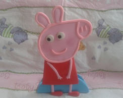 Enfeite de mesa Peppa pig biscuit