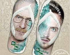 Chinelos Personalizados Breaking Bad