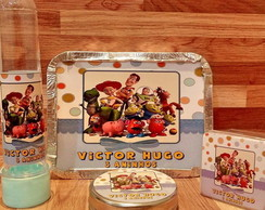 Kit festa Person. 80 itens Toy story