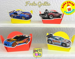 100 forminhas p/ montar hot wheels