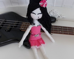 "Boneca de Pano ""Amy Winehouse"""