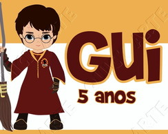 etiqueta r�tulo digital harry potter