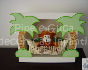 do-0039-cenario-decorativo-macaco-rede