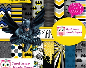 papel digital 24-9 batman