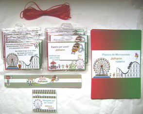Kit Mini-Festa: Parque de Divers�o