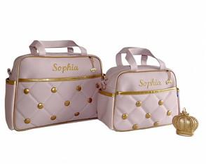 Kit bolsas maternidade personalizadas
