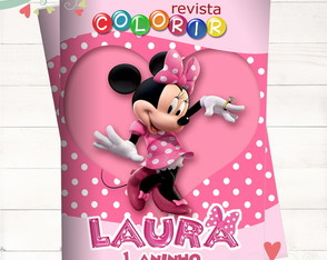 Revista Colorir Mickey
