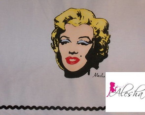 marilyn-monroe-pop-pintada-a-mao