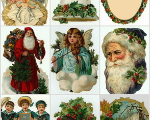 natal-cd-770-ilustracoes-antigas-clipart
