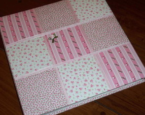 album-scrapbook-patch-rosa-100-folhas