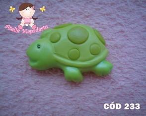 C�d 233 Molde de tartaruga