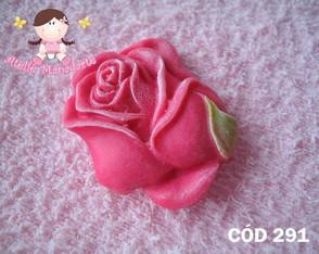 C�d 291 Molde bot�o de rosa