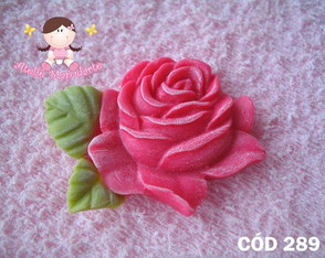 C�d 289 Molde de rosa