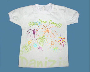 T-Shirt Beb� e Infantil FELIZ ANO NOVO!
