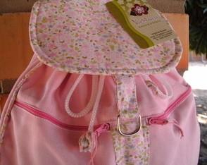 Mochila Infantil Rosa