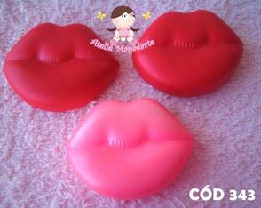C�d 343 Molde boca / beijo