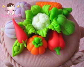 C�d 351 Molde de mini legumes