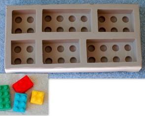 Molde em Silicone - Monta monta (Legos)