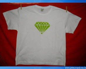 camiseta-diamante-verde-adulto