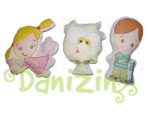 Almofadinhas/ Naninhas Mascotes Danizin