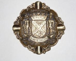 Cinzeiro Bras�o em Bronze