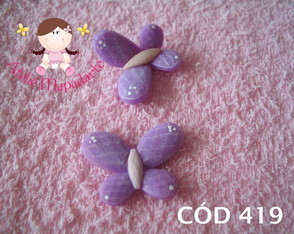 C�d 419 Molde de borboleta