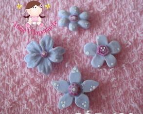 C�d 420 Molde de flores com 4