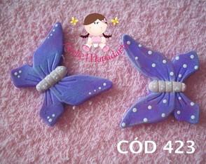 C�d 423 Molde de borboleta