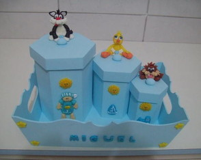 kit-higiene-bebe-tema-looney-tunnes