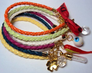 Pulseira Color Block Patu�