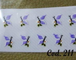Borboleta lil�s