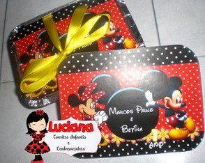 MARMITA MICKEY E MINNIE