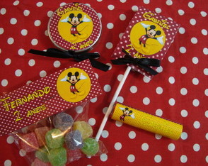 MINI KIT FESTA PERSONALIZADA MICKEY