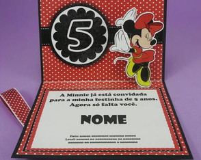 convite-minnie-pop-up-3d
