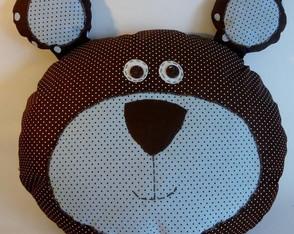 Almofada de urso - marrom