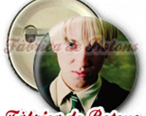 boton-2-5cm-draco-malfoy-harry-potter