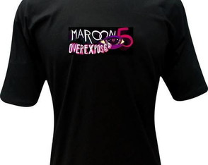 Camiseta Maroon 5 World Tour 2012