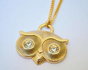 COLAR GOLDEN OWL