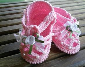 """Sandalinha """"Ana"""" Rosa"""