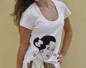 Camiseta Dama Antiga 6