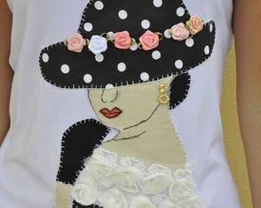 Camiseta Dama Antiga 8