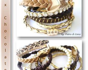 Bracelete Mix Chocolate