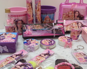 Kit Festa Barbie A Princesa E A Popstar
