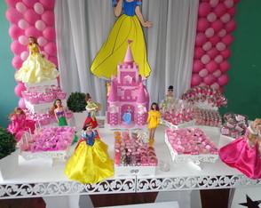 Aluguel Mesa Princesas