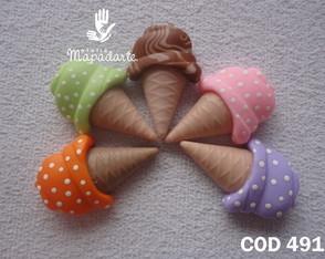 C�d 491 molde de sorvete