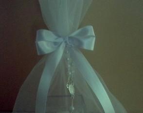 Caixa acr�lico com amendoa e ter�o (saco